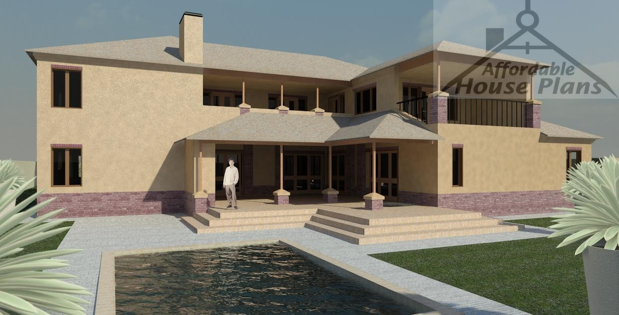 House Plans 401 m² over 500 m²